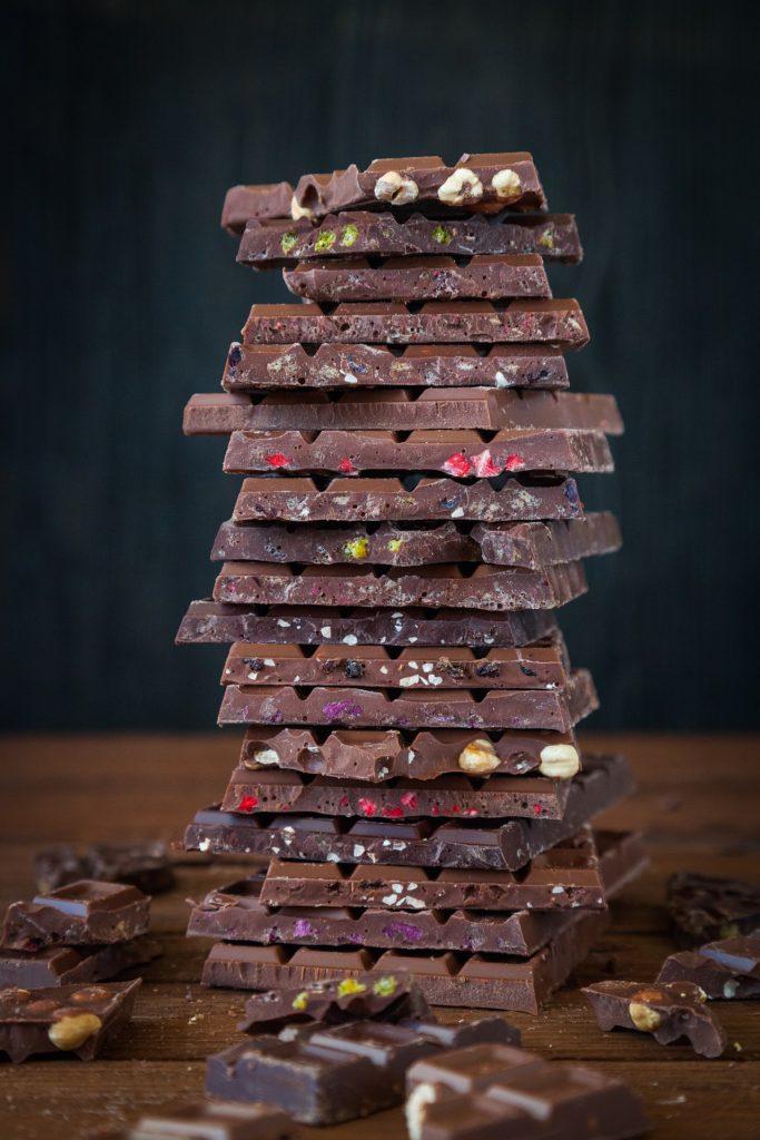 kusky cokolady